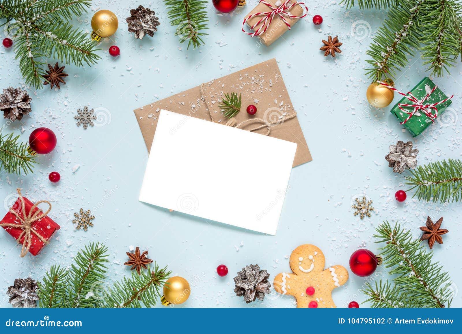 Carte De Voeux Vierge De Noël Dans Le Cadre Fait De Branches