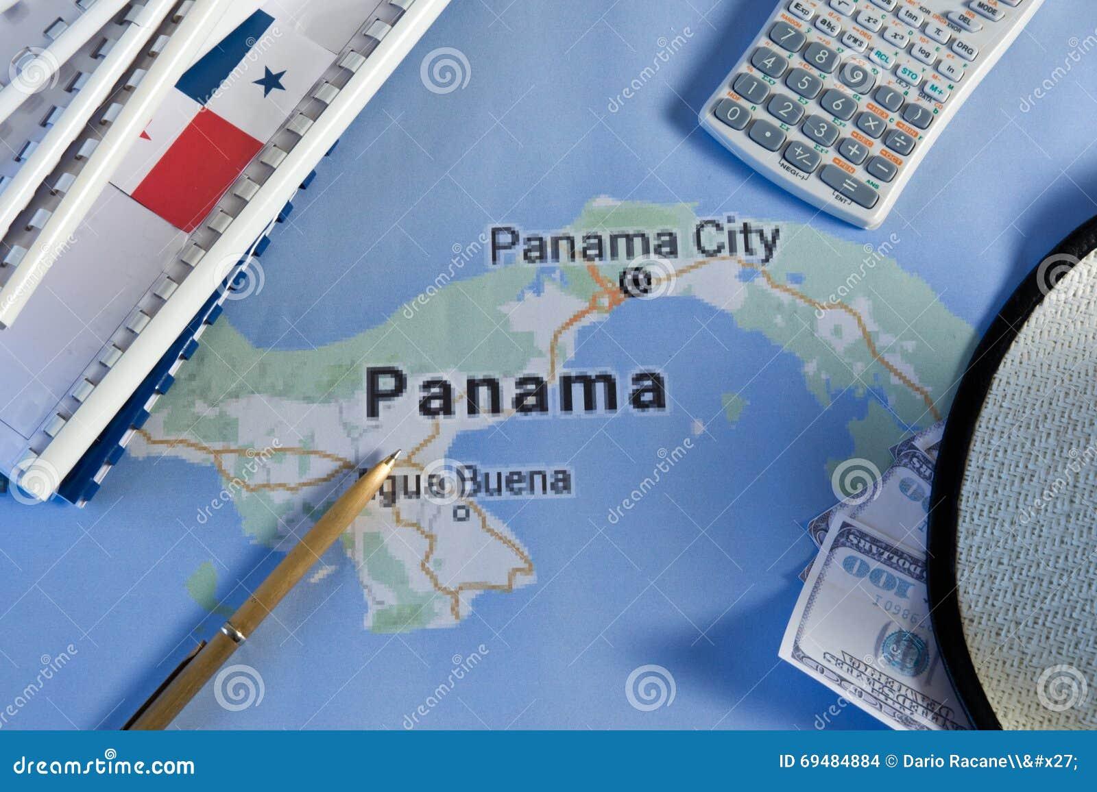 Carte del Panama