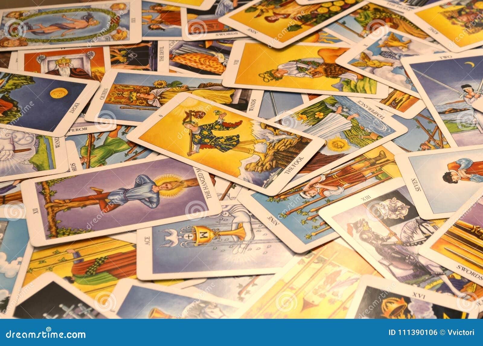 Carte di tarocchi 78 carte di multiplo delle carte