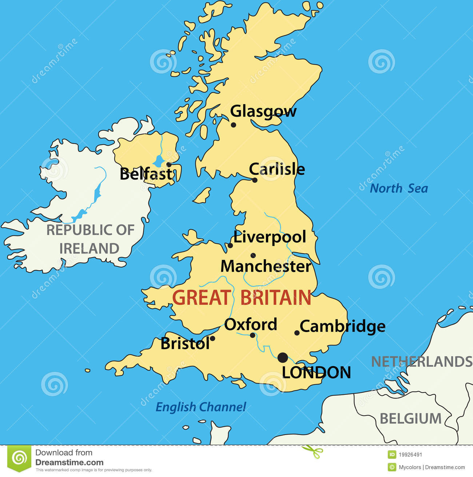 Ville Plus Grande De Bretagne