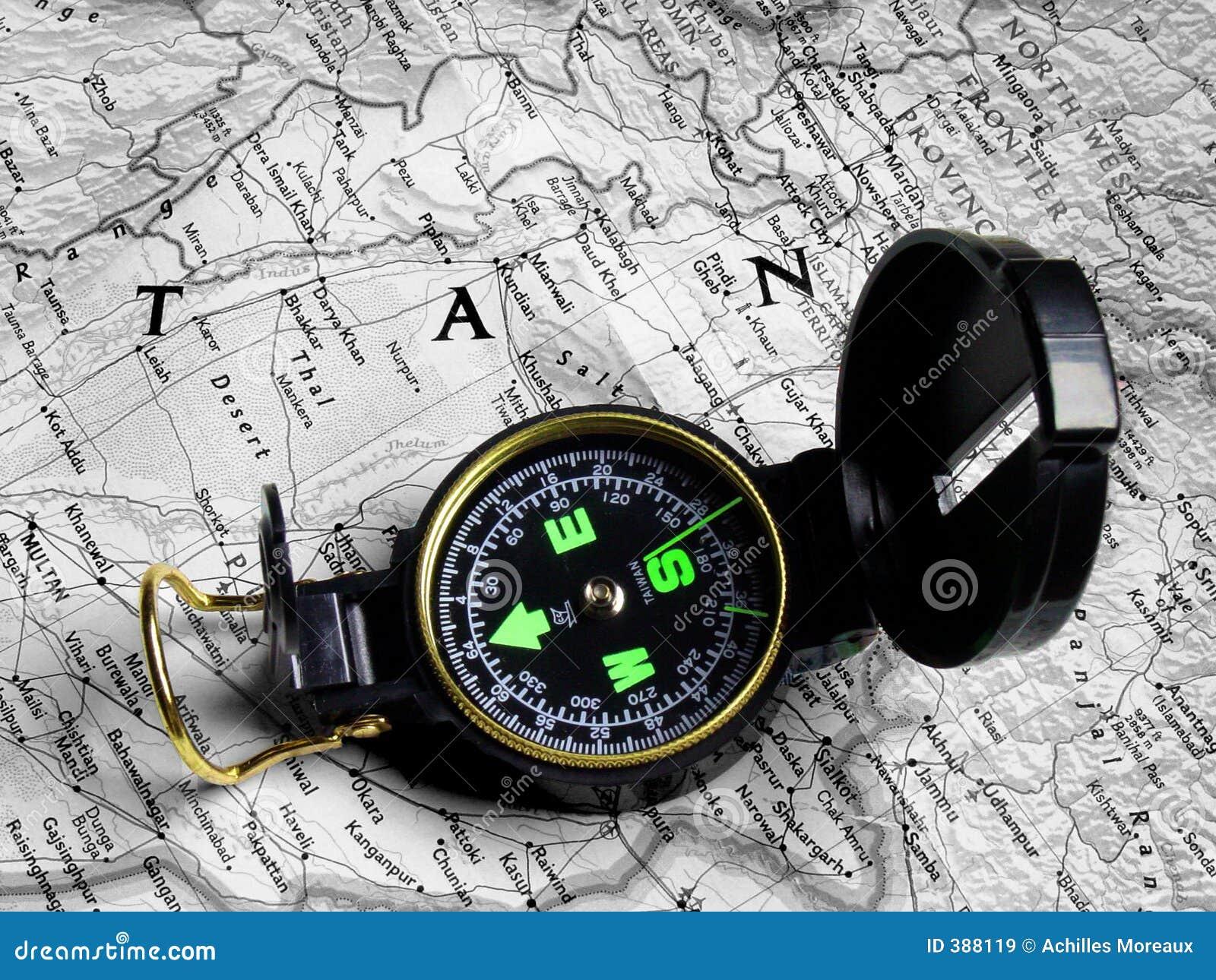 Carte et compas 2