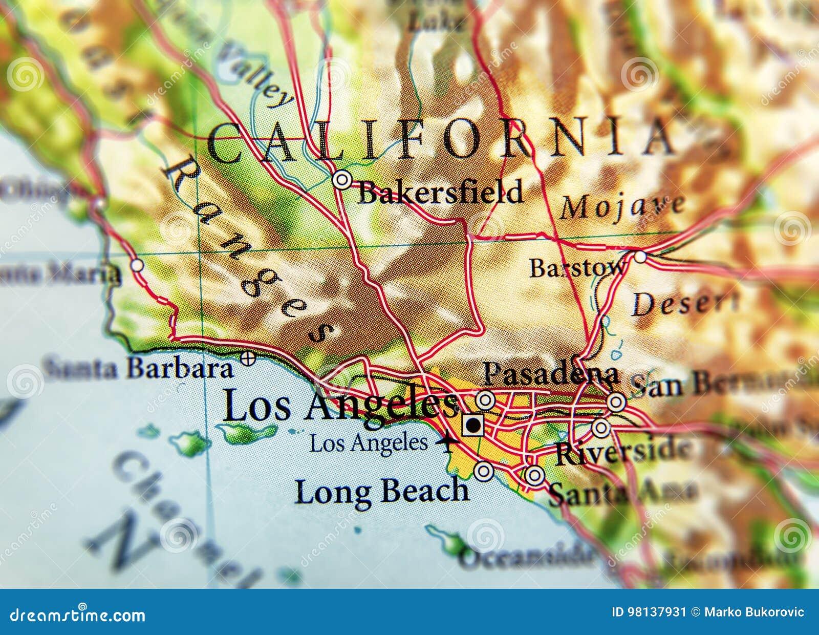 La Carte Des Usa Avec Les Villes