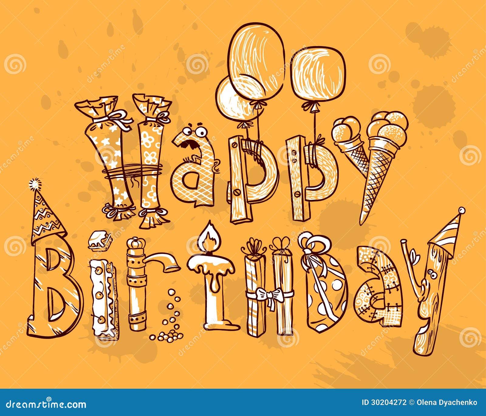 Joyeux anniversaire photographie stock image 30204272 - Photographie d art en ligne ...