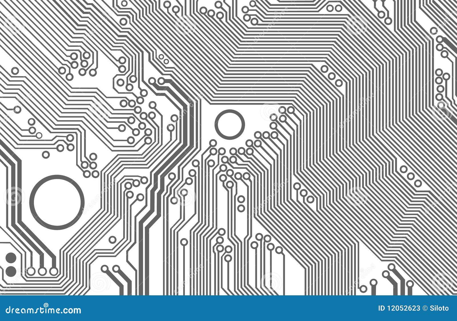 Carte mère illustration stock. Illustration du ordinateur - 12052623