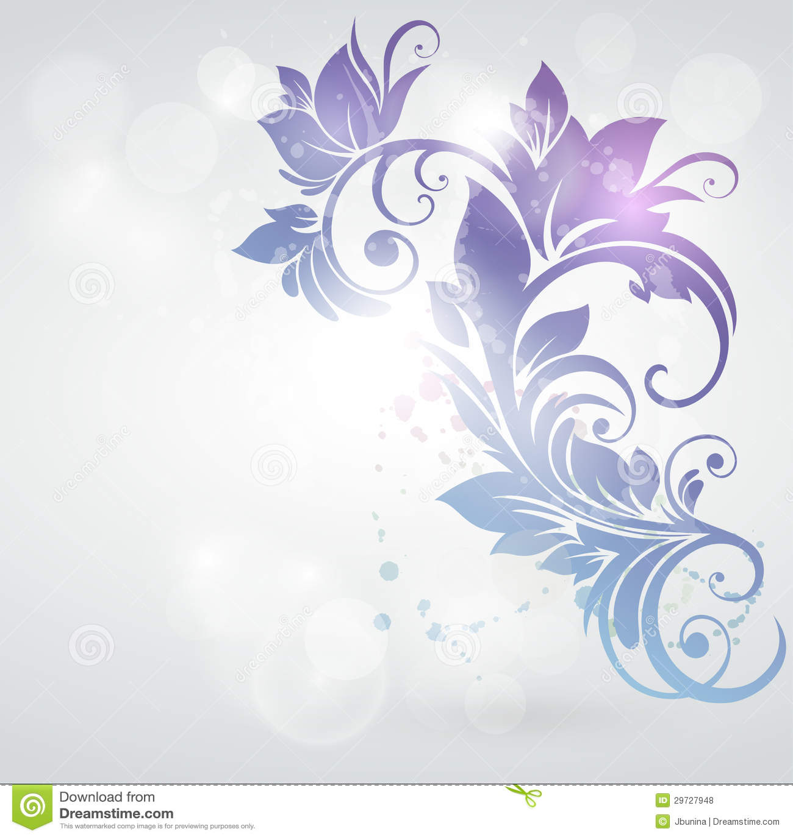 carte d 39 invitation avec le fond floral photos libres de droits image 29727948. Black Bedroom Furniture Sets. Home Design Ideas