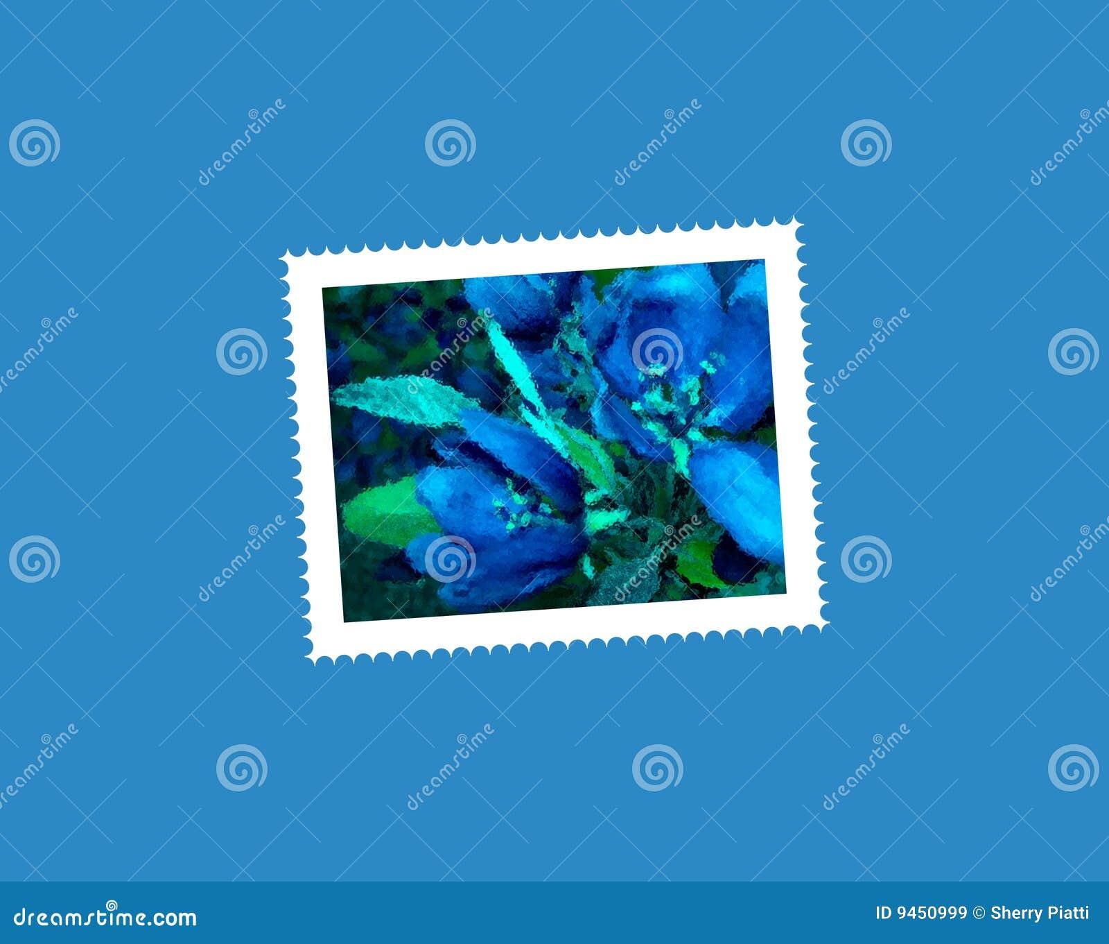 Carte postale de fleur