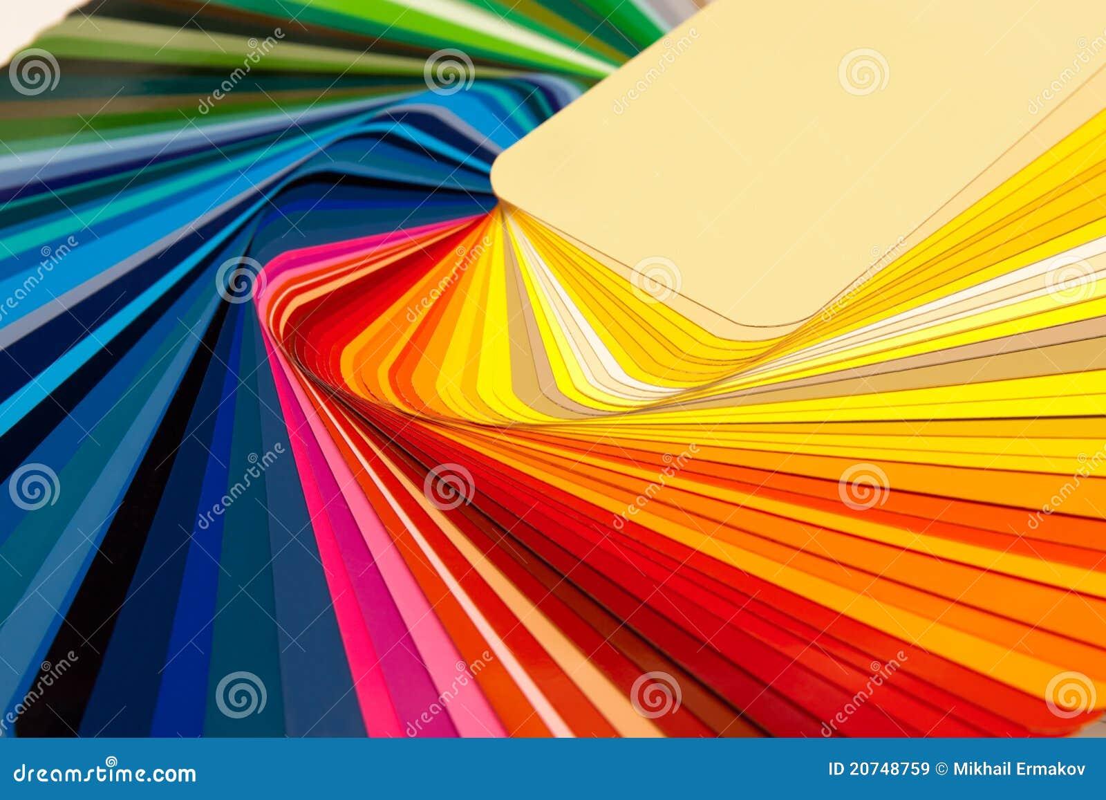 Carte ral de couleur images libres de droits image 20748759 - Echantillon de couleurs de peinture ...