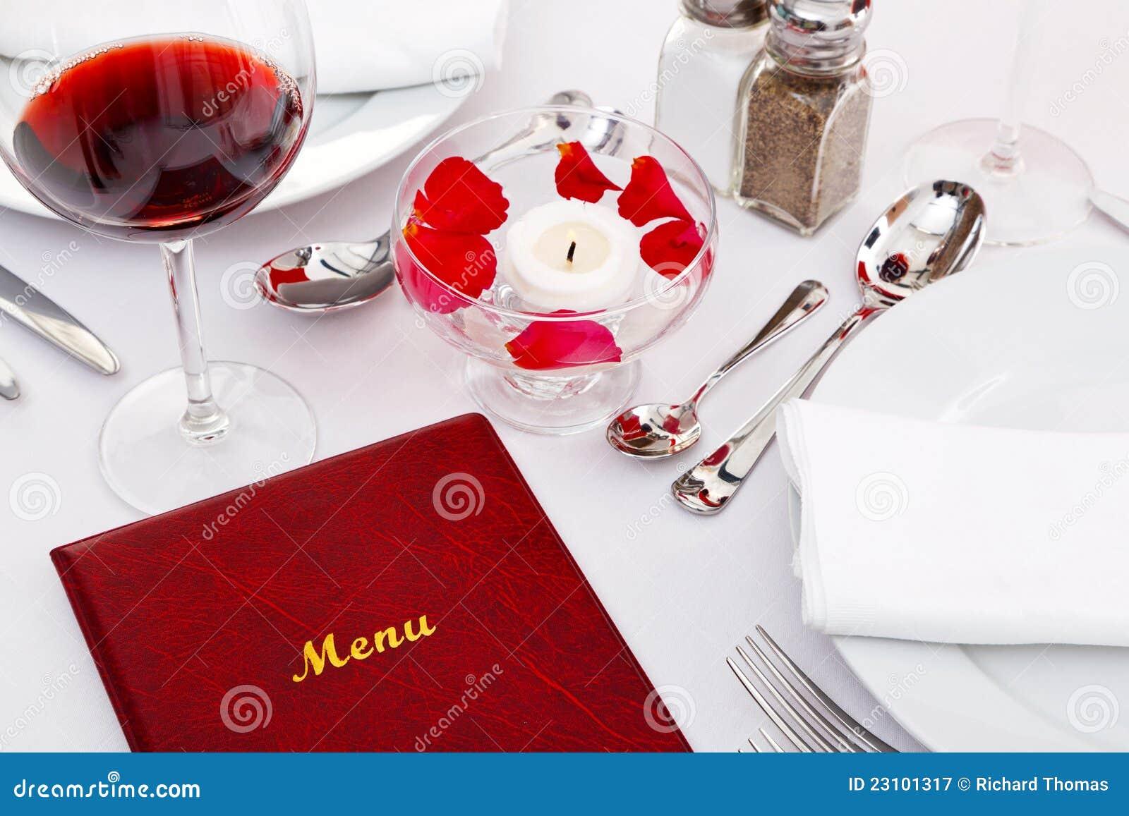 Carte sur une table de restaurant photographie stock libre - Restaurant carte sur table cavaillon ...
