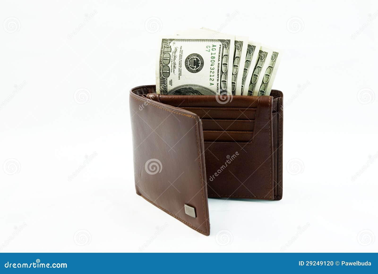 Download Carteira com dólares foto de stock. Imagem de banco, débito - 29249120