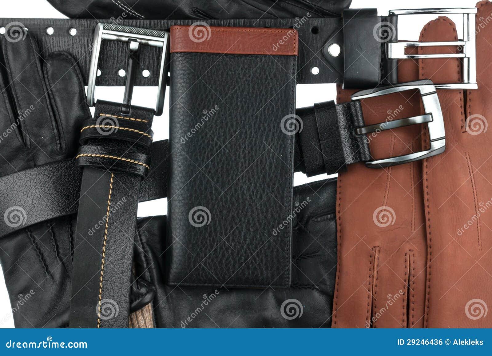 Download A Carteira Dos Homens Que Encontra-se Nas Correias E Nas Luvas Foto de Stock - Imagem de forma, projeto: 29246436