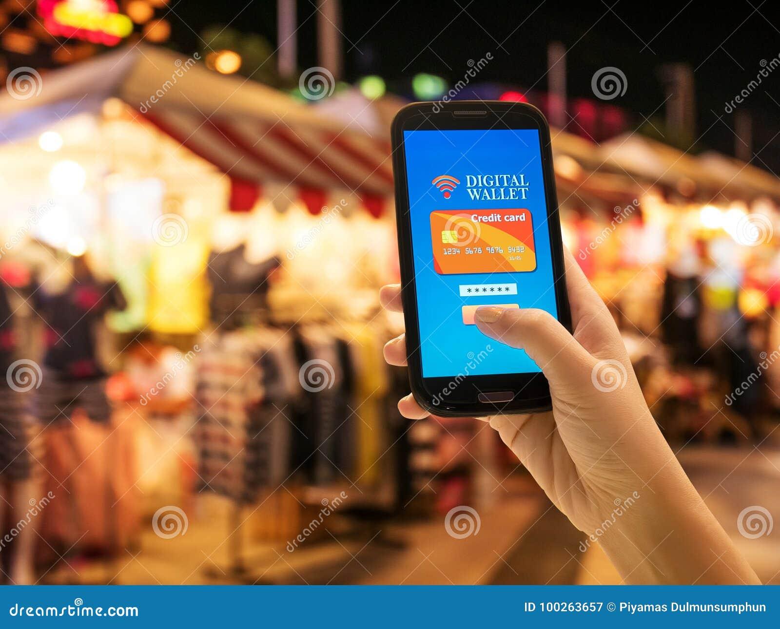 Carteira móvel de Digitas, Internet banking, tecnologia moderna