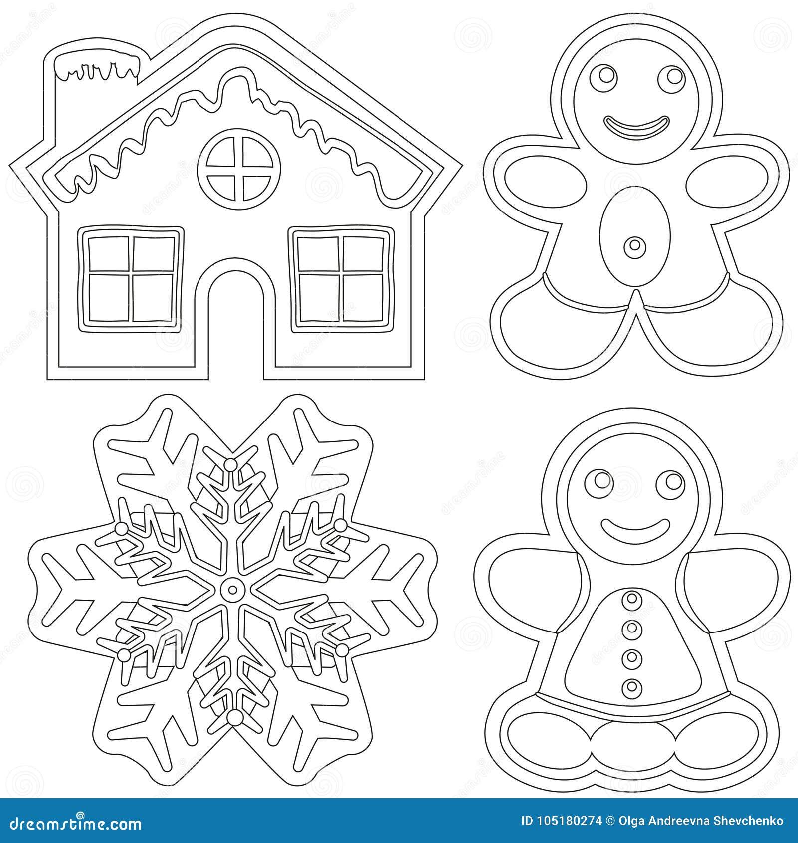 Excelente Hojas De Colorear De Casa De Jengibre Componente - Dibujos ...