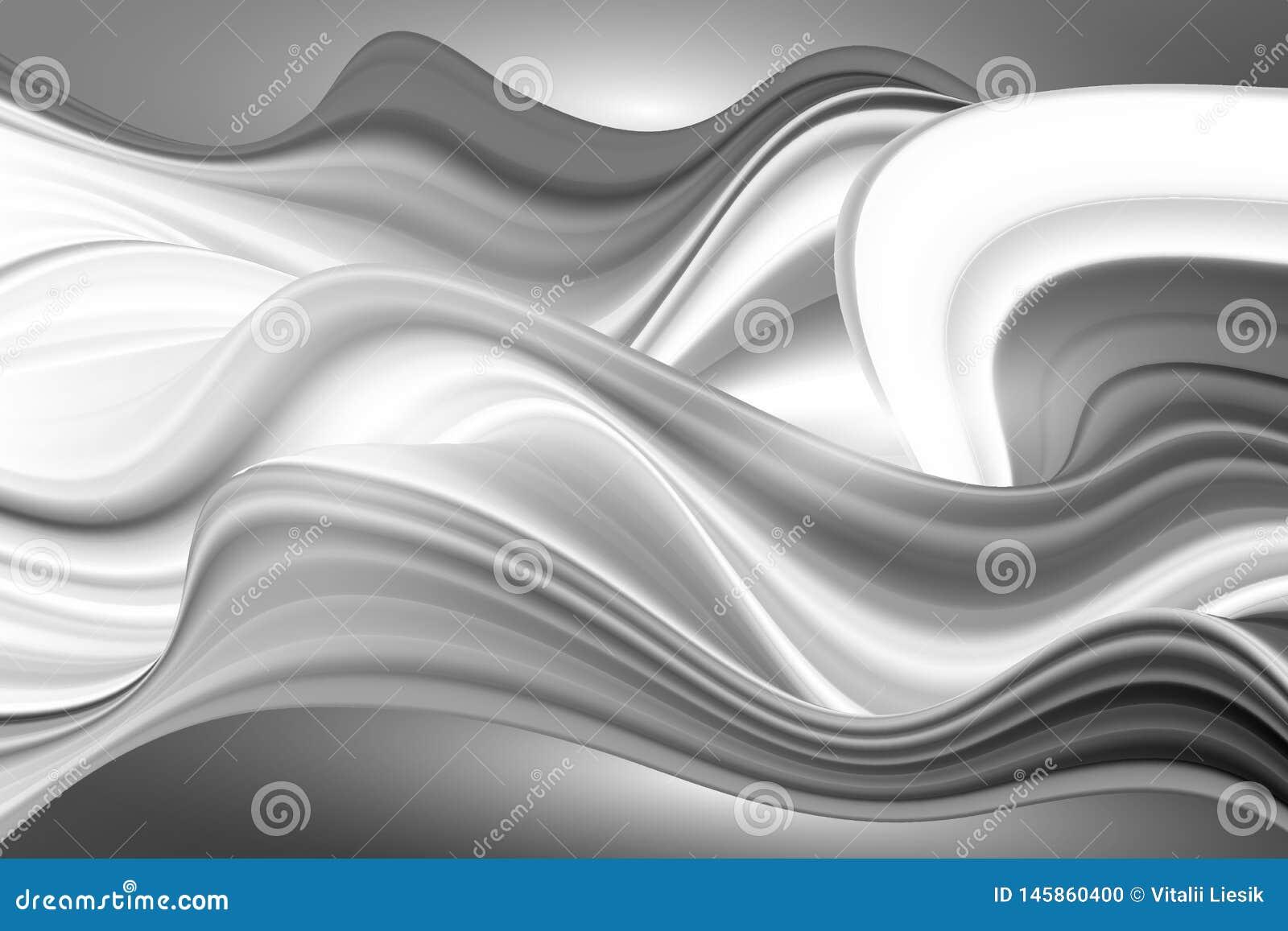 Cartel colorido moderno del flujo Fondo l?quido del color de la forma de la onda Dise?o del arte para su proyecto de dise?o