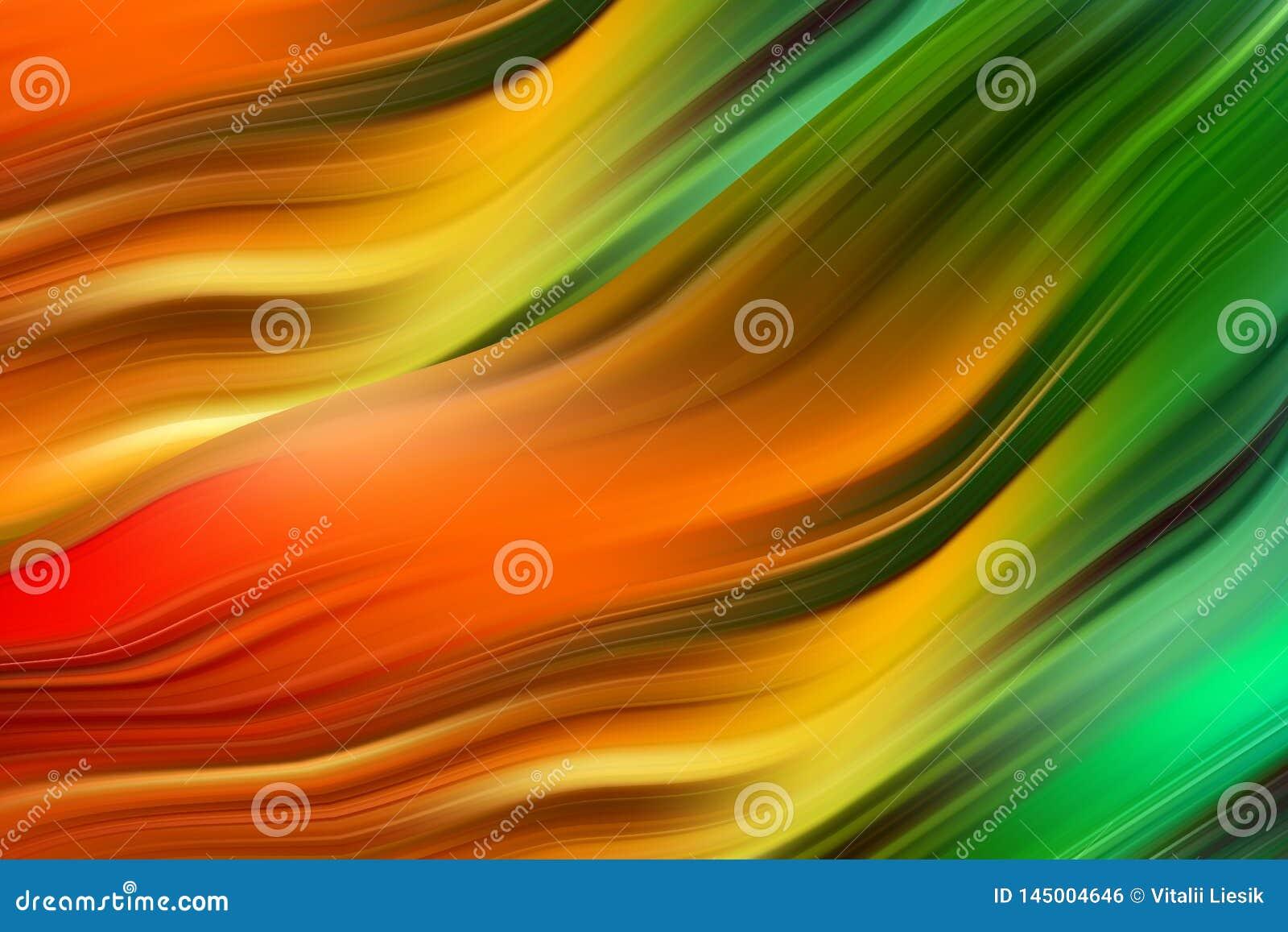 Cartel colorido moderno del flujo Fondo l?quido del color de la forma de la onda Dise?o del arte para su proyecto de dise?o Ilust