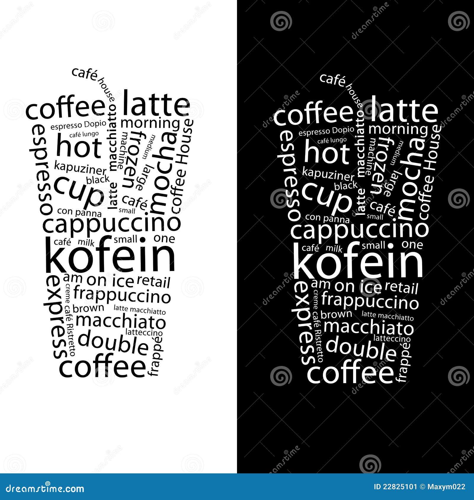 Cartel de Coffe stock de ilustración. Ilustración de fondo - 22825101