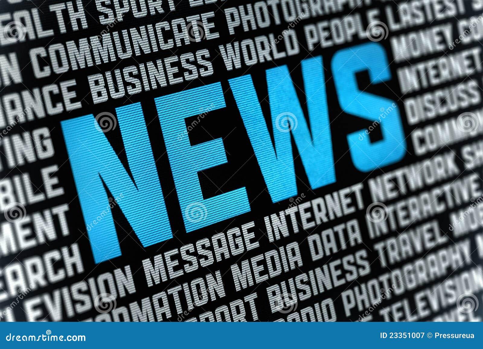 Cartel de las noticias