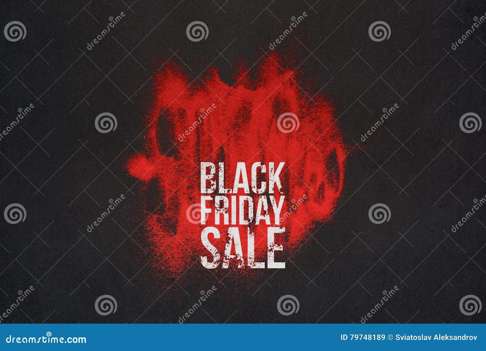 Cartelera de la venta de Black Friday o concepto de la bandera