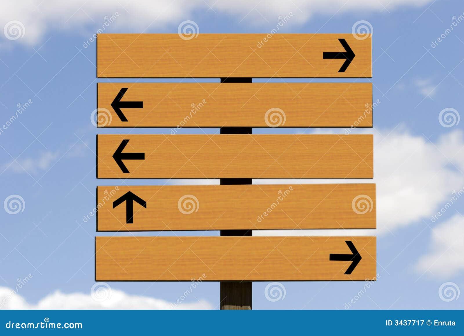 Cartelera de madera
