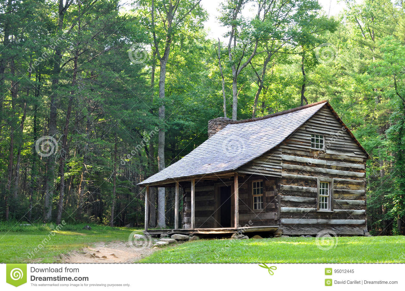 Carter shields cabin at cades cove a historic log home for The cove house