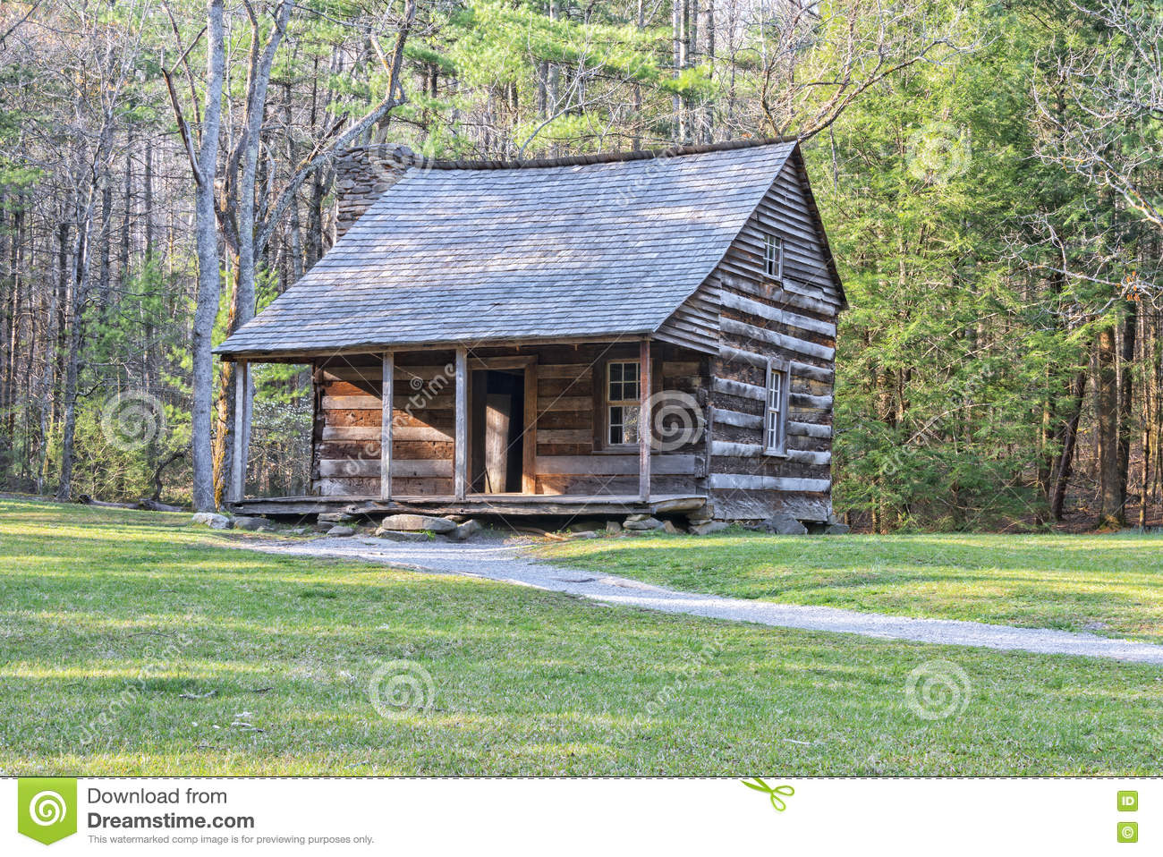 Carter Shields Cabin in Cades-Inham