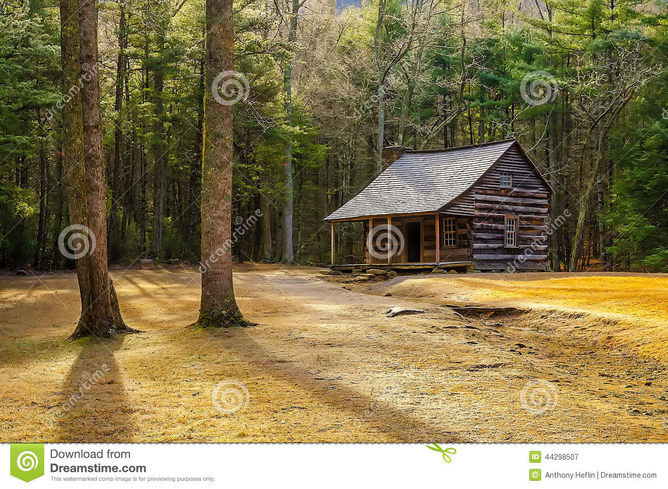 Carter Shields Cabin, Great Smoky Mountains