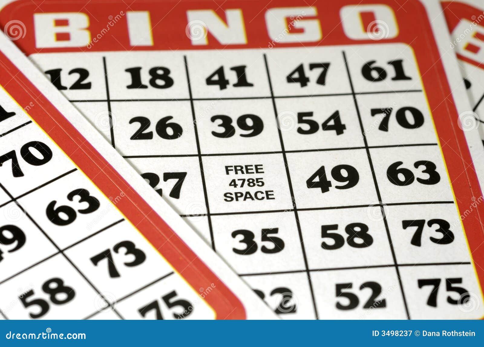 Cartes de bingo-test