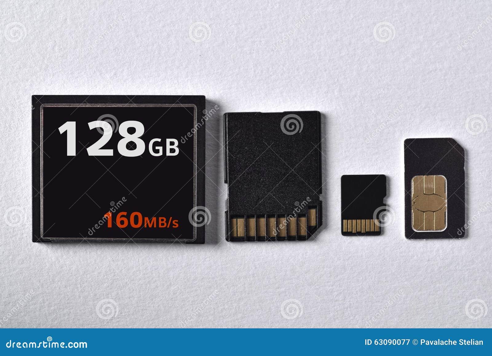 Download Cartes De Mémoire Rapides Superbes Image stock - Image du rapide, disque: 63090077