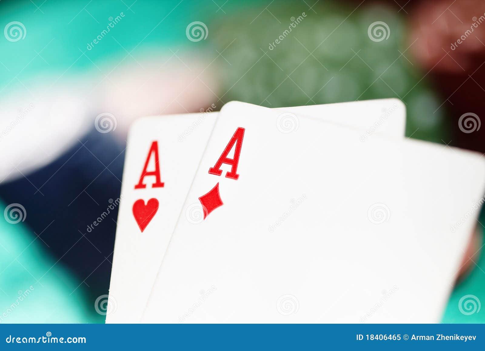 Cartes et puces de casino
