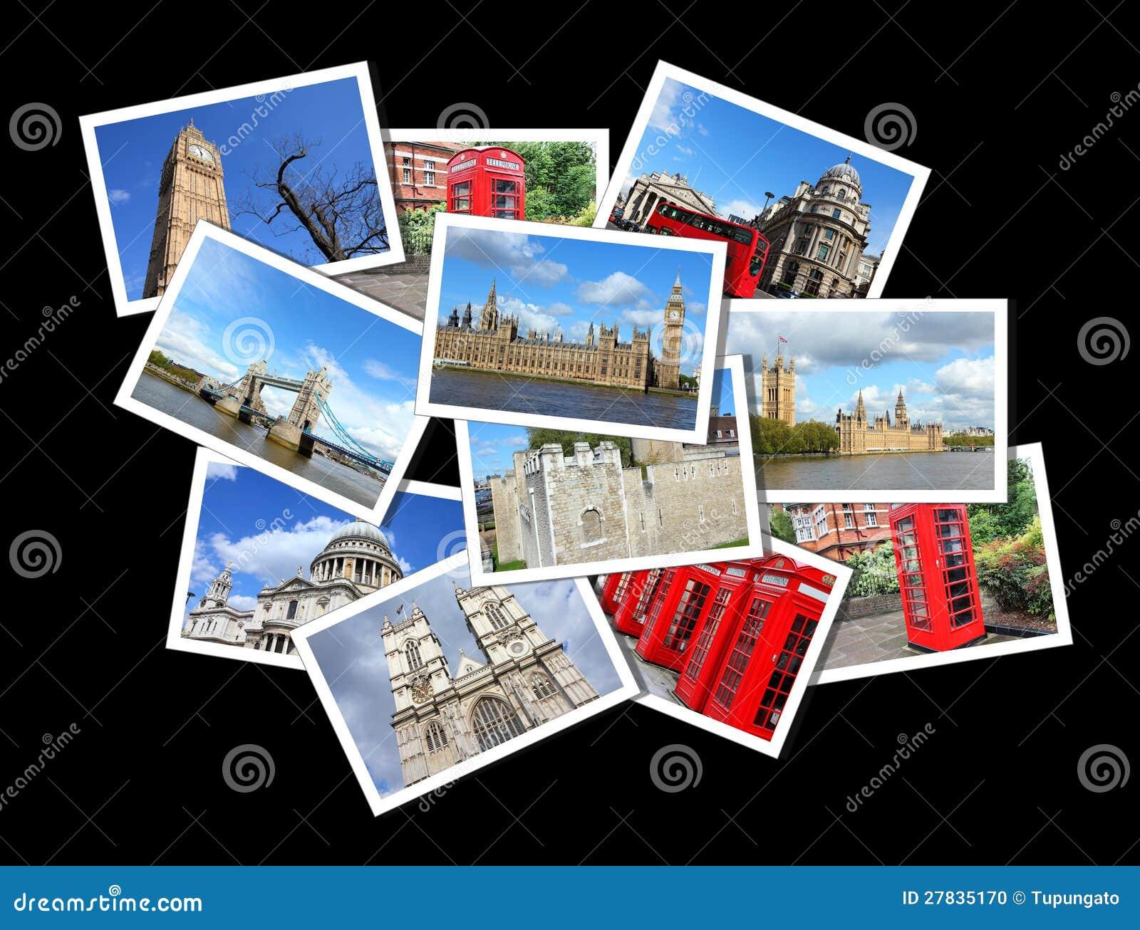 Cartes postales de Londres photo stock. Image du ville - 27835170