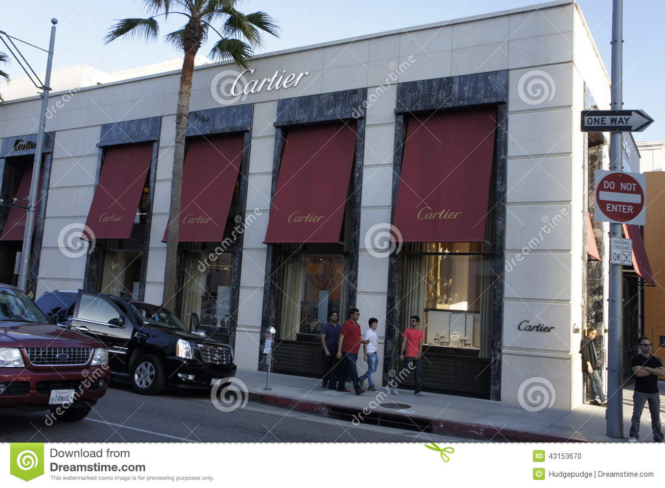 Cartier building editorial image image 43153670 for Cartier in beverly hills