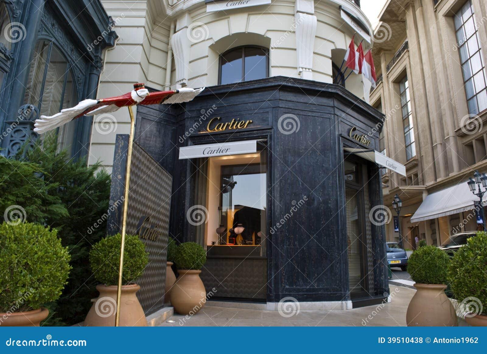 Cartier store -Montecarlo