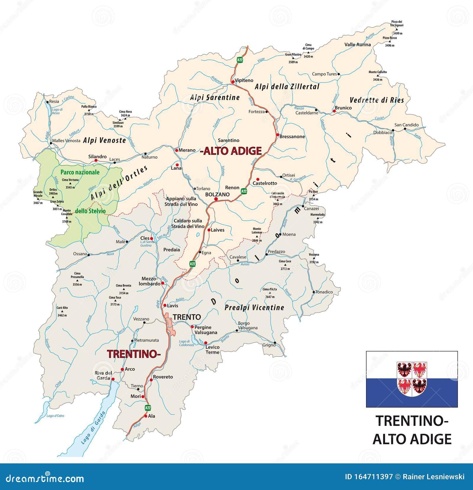 Cartina Stradale Del Trentino Alto Adige.Trentino Alto Illustrazioni Vettoriali E Clipart Stock 47 Illustrazioni Stock