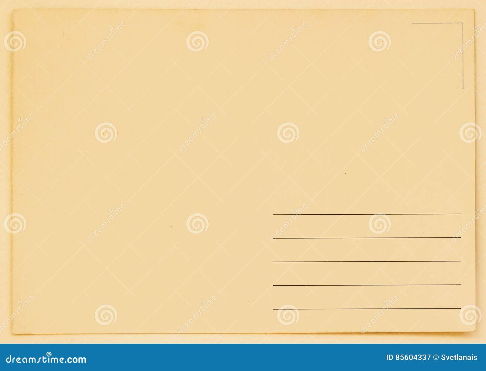 Cartolina in bianco di lerciume backside Struttura (di carta) increspata Con il posto il vostro testo, uso del fondo