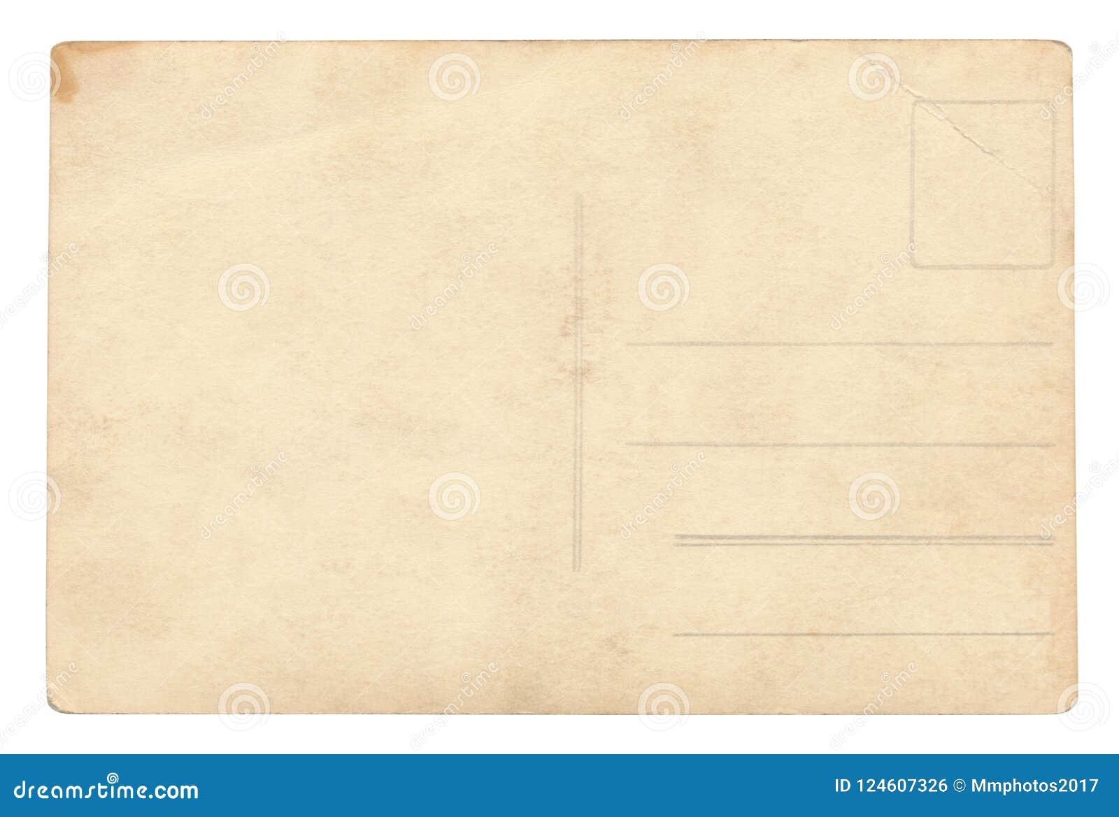 Cartolina d annata - isolata