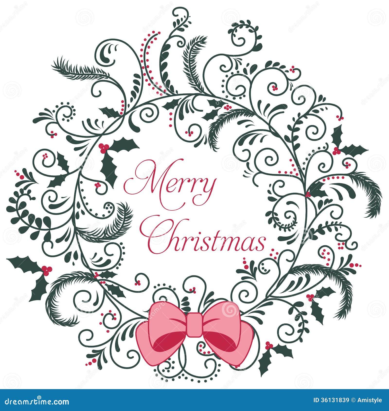 Cartolina d auguri di Buon Natale