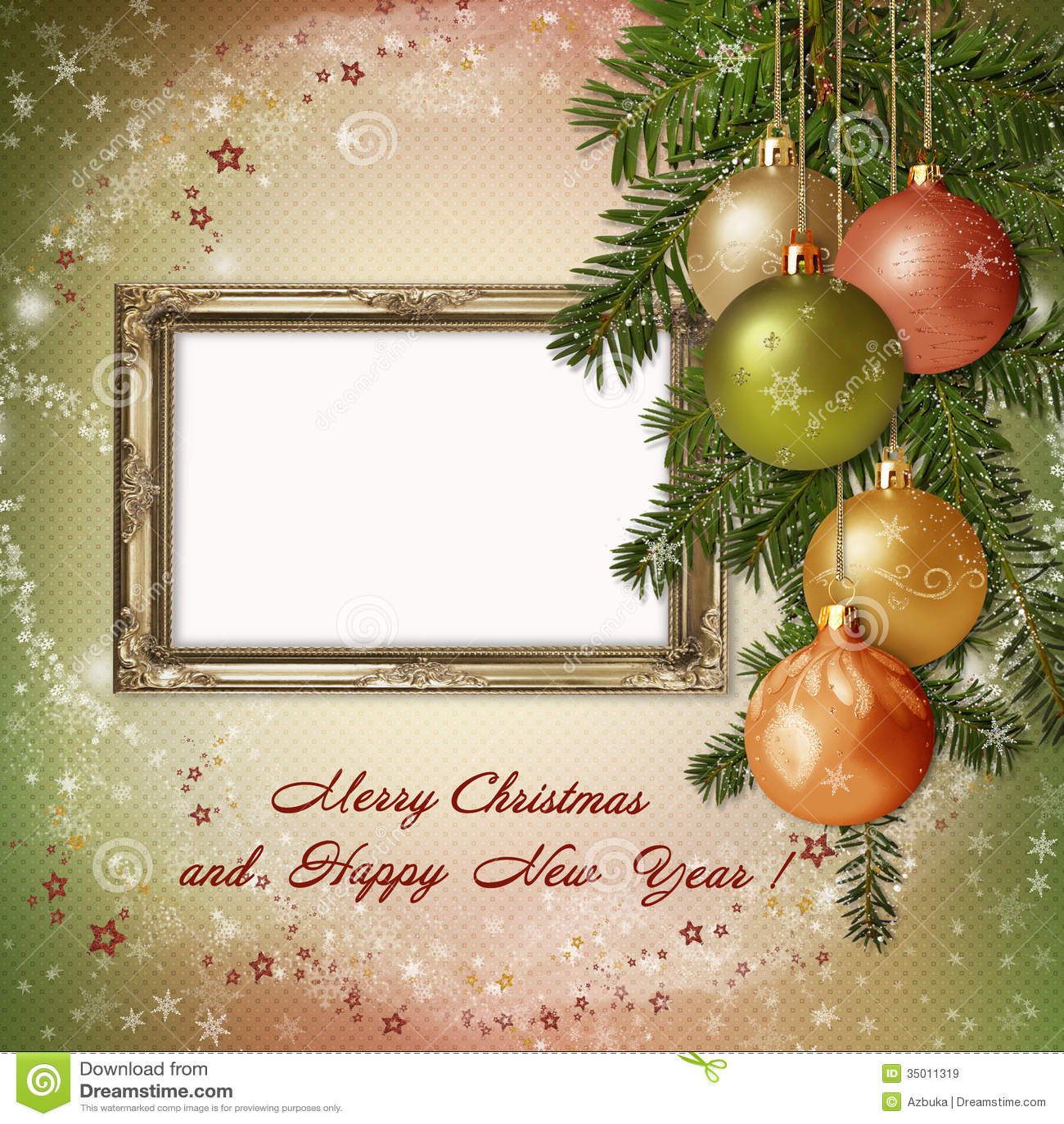 Auguri Di Natale Famiglia.Cartolina D Auguri Di Natale Con La Struttura Per Una Famiglia