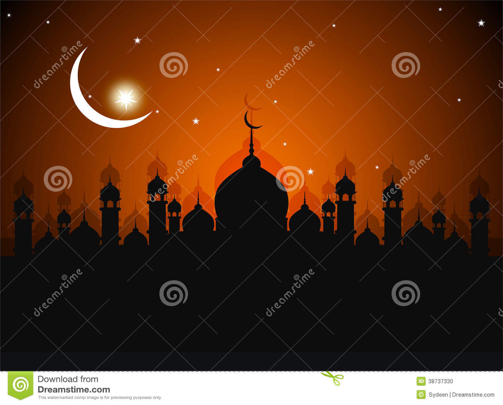 Cartolina d auguri di Ramadhan