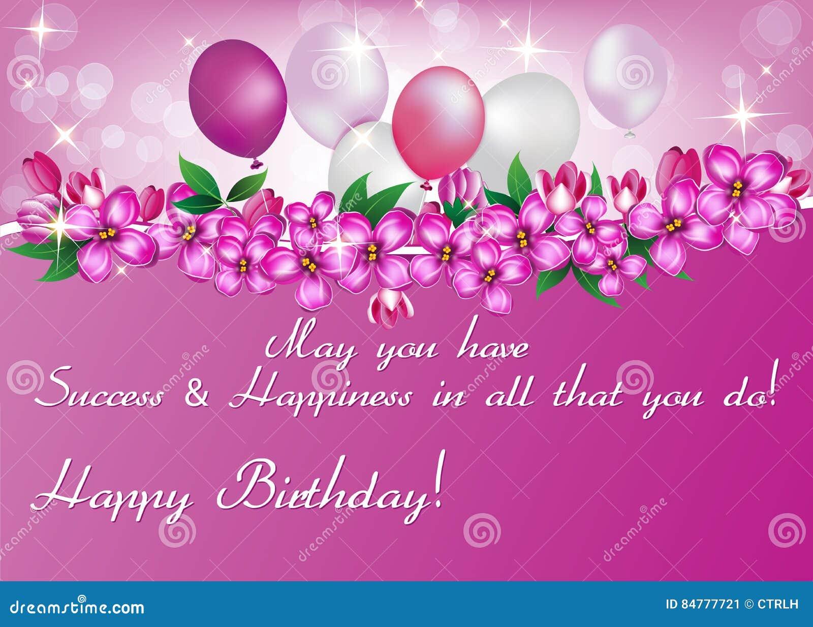 Eccezionale Cartolina D'auguri Elegante Stampabile Di Compleanno Per La Donna  QY57