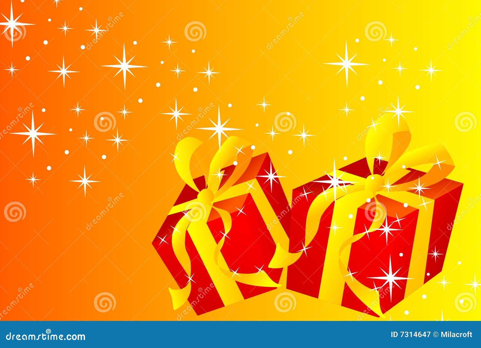 Cartolina di Natale - regalo