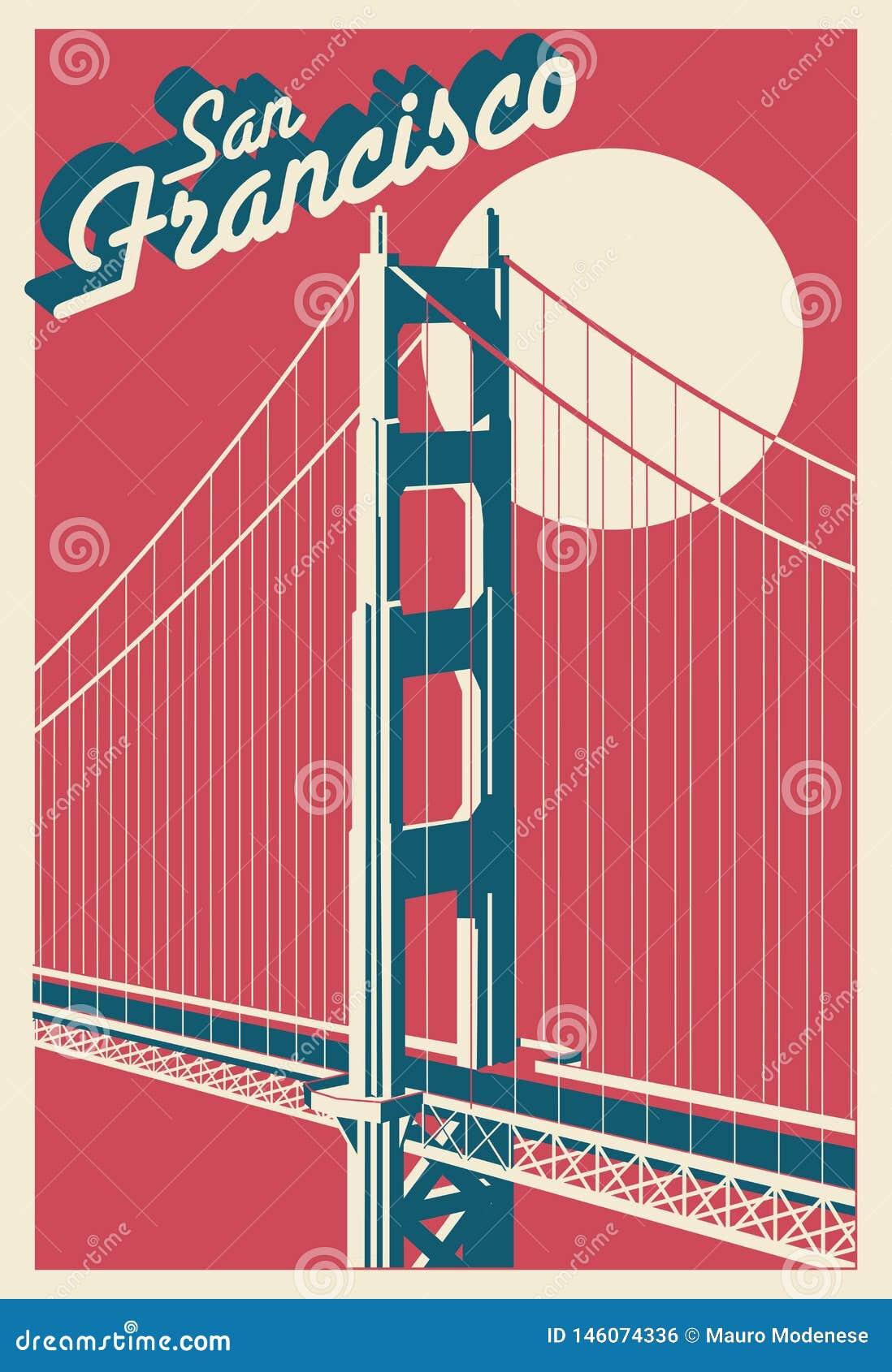 Cartolina di San Francisco California