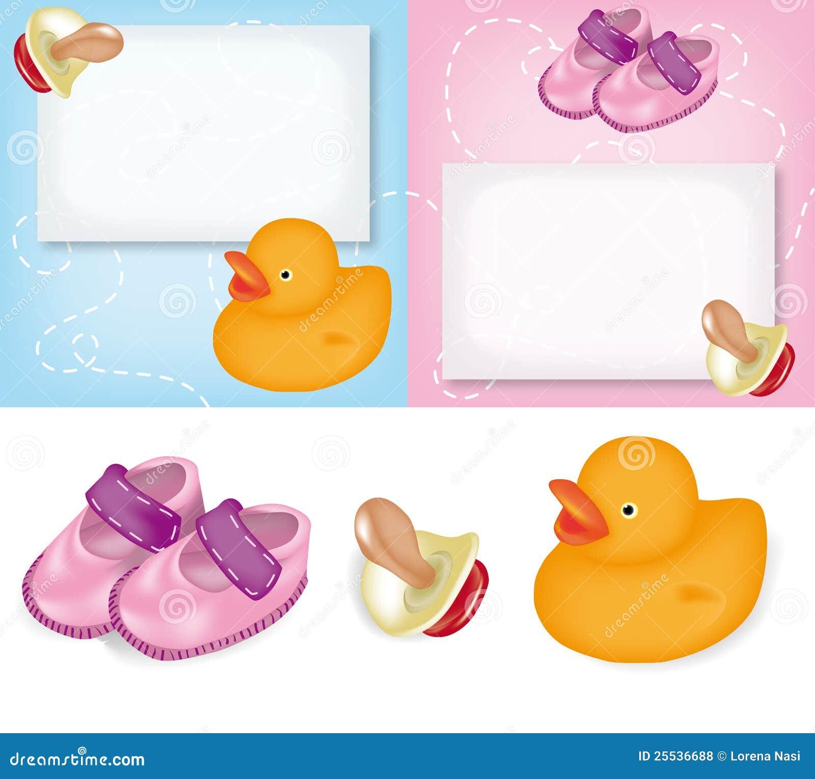 Auguri Matrimonio E Nascita : Cartoline d auguri per la nascita fotografie stock libere