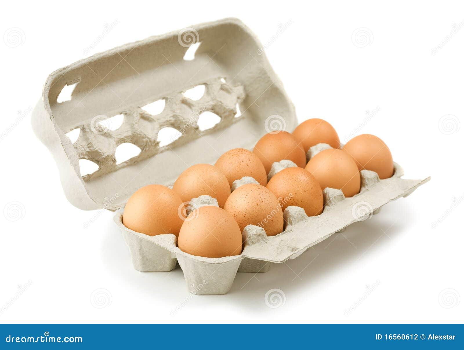 Carton of eggs stock photo image of eggs nutritious - Caja de huevo ...