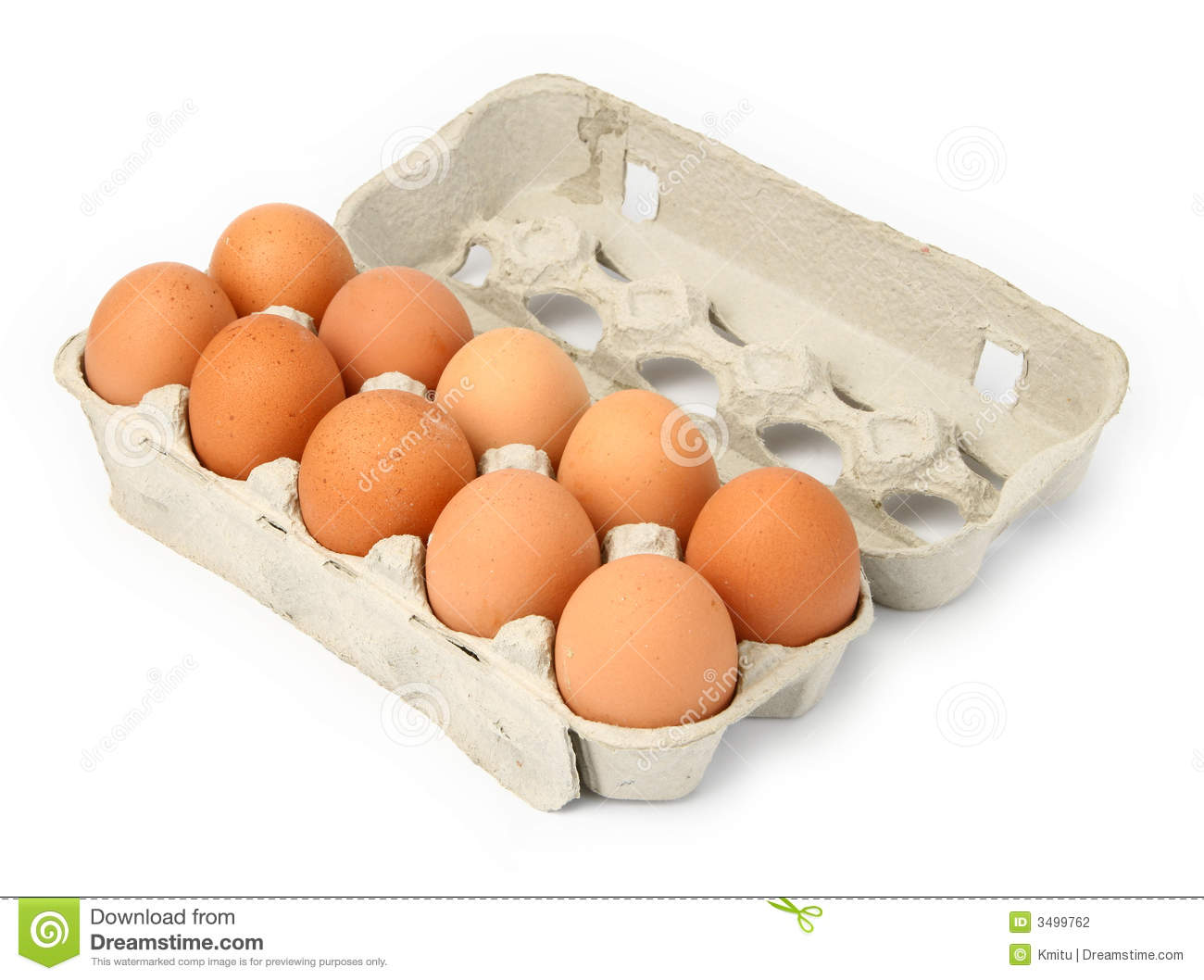Carton Of Eggs Stock Photography - Image: 3499762