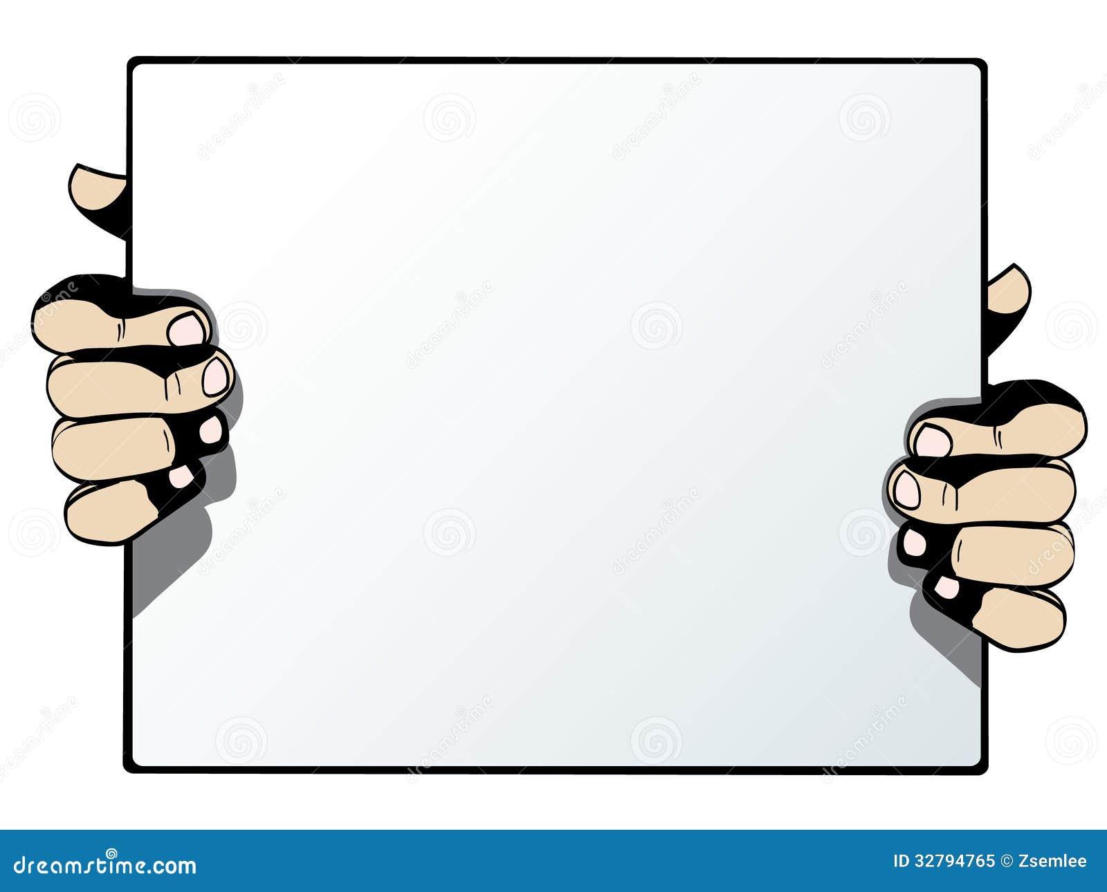 carton publicitaire vierge d 39 isolement sur le ccb blanc illustration de vecteur illustration. Black Bedroom Furniture Sets. Home Design Ideas