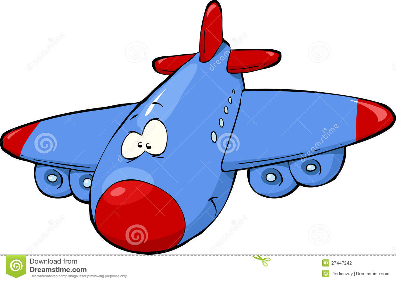 Cartoon Airplane Stock Vector Illustration Of Illustration 27447242