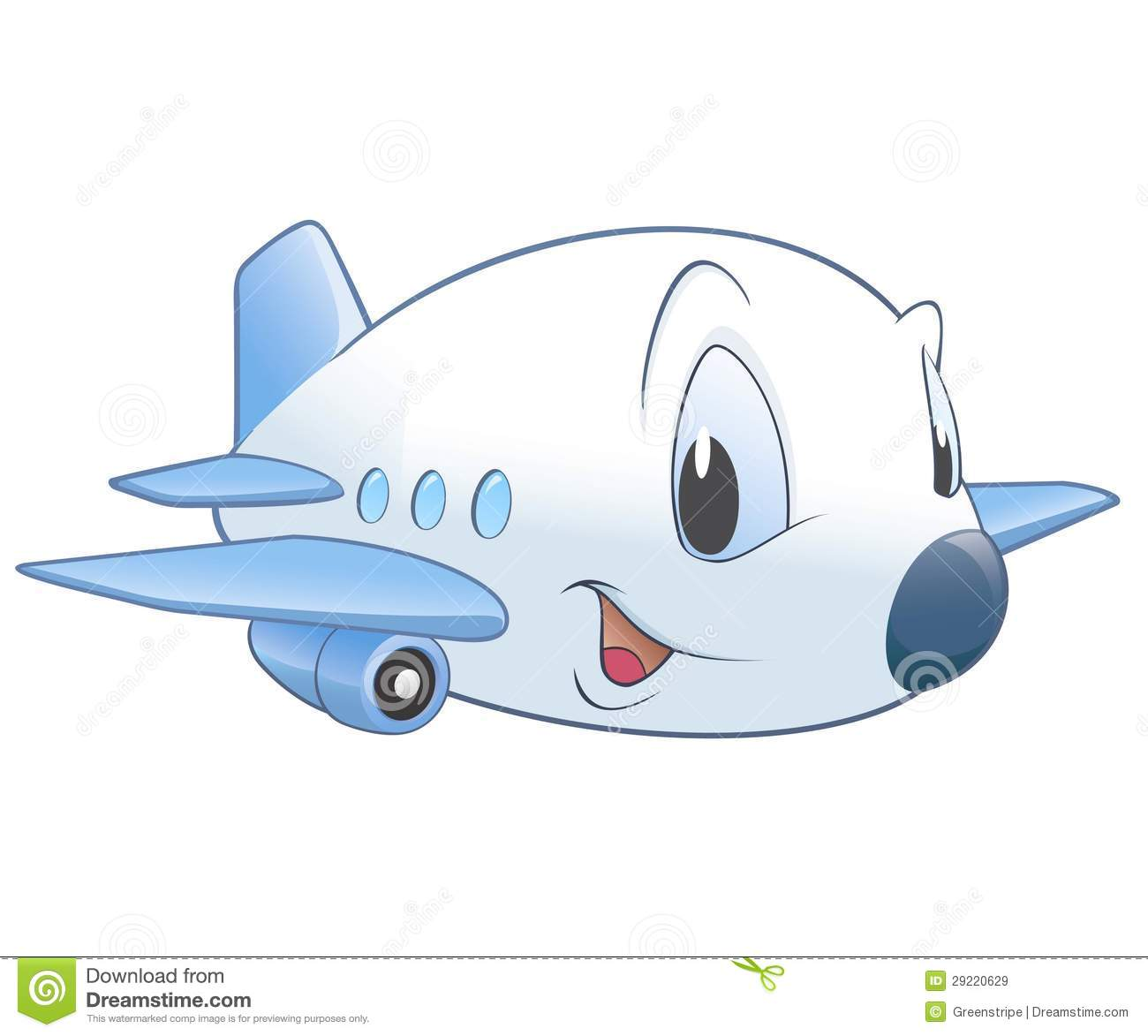 Cartoon Airplane Royalty Free Stock Images Image 29220629