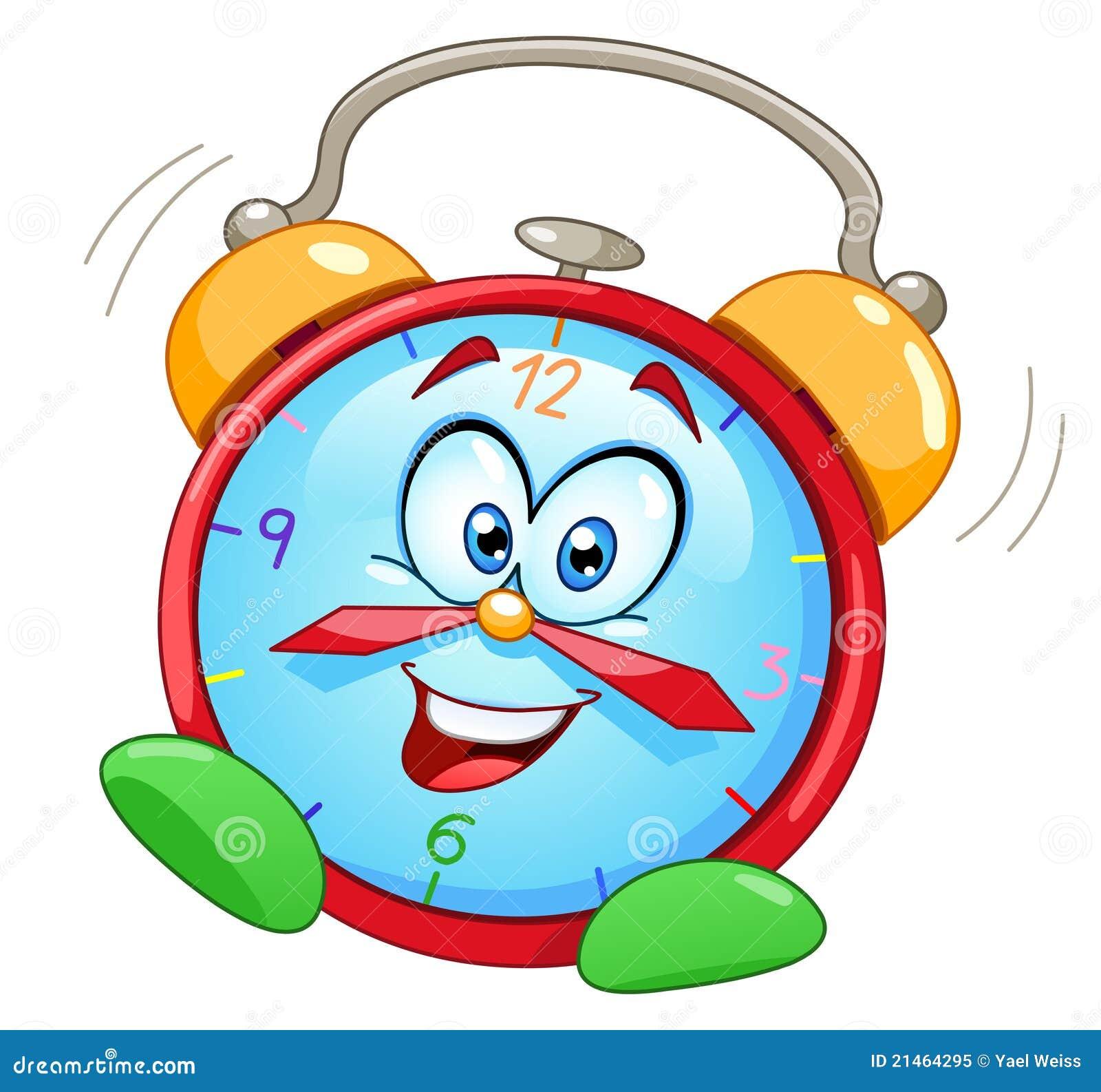 cartoon alarm clock royalty free stock photo image 21464295 Running Silhouette Sad Clip Art