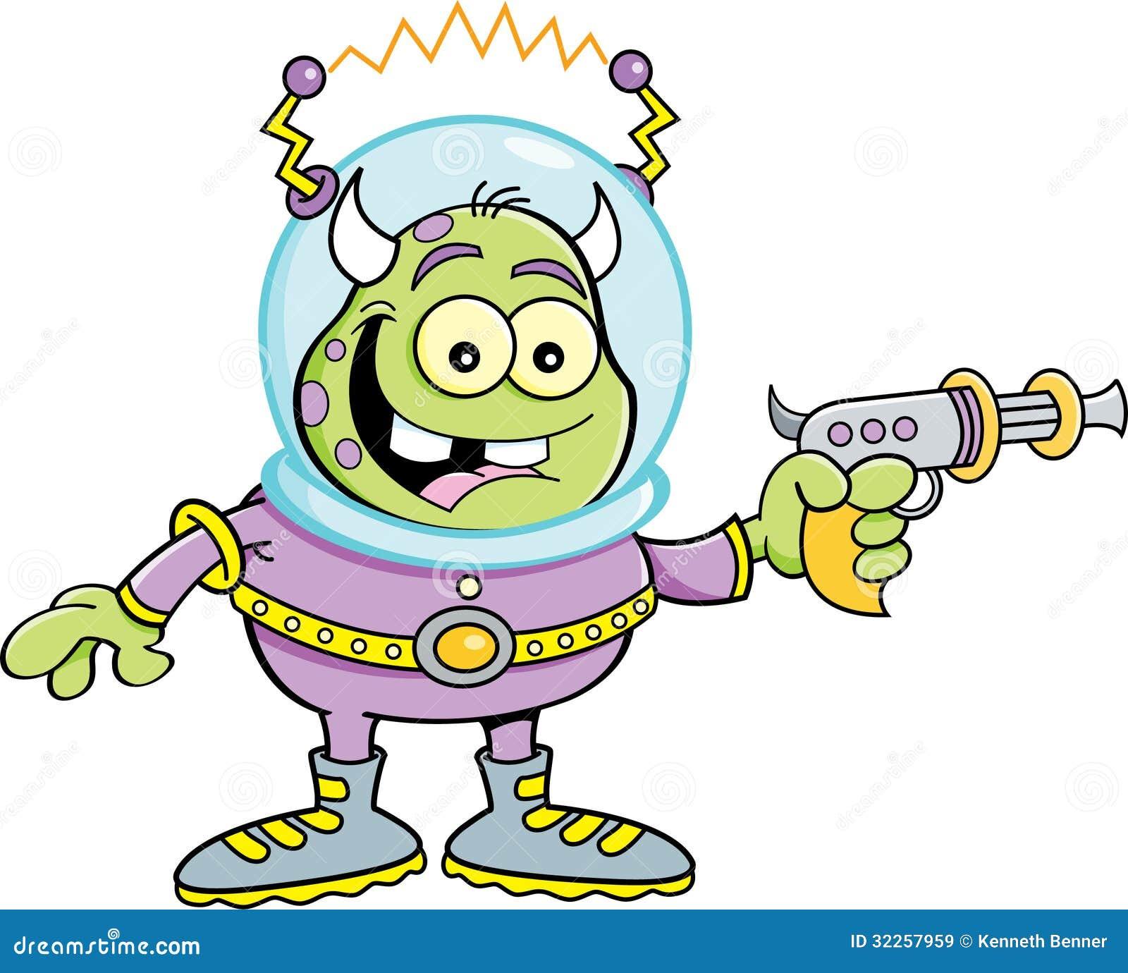 Space Alien Clipart