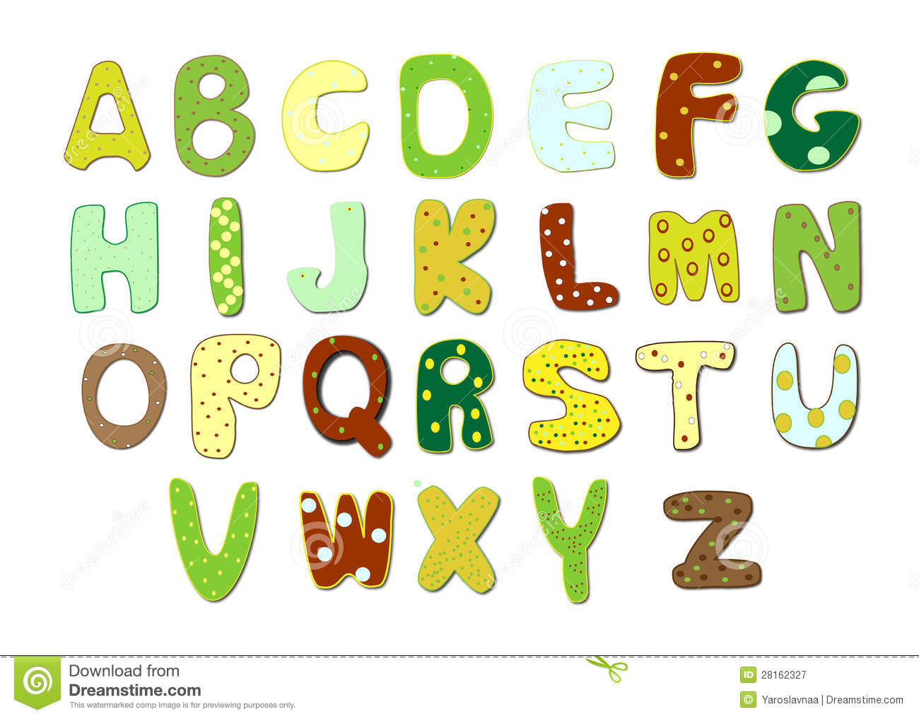 A Type Of Bird  Letters