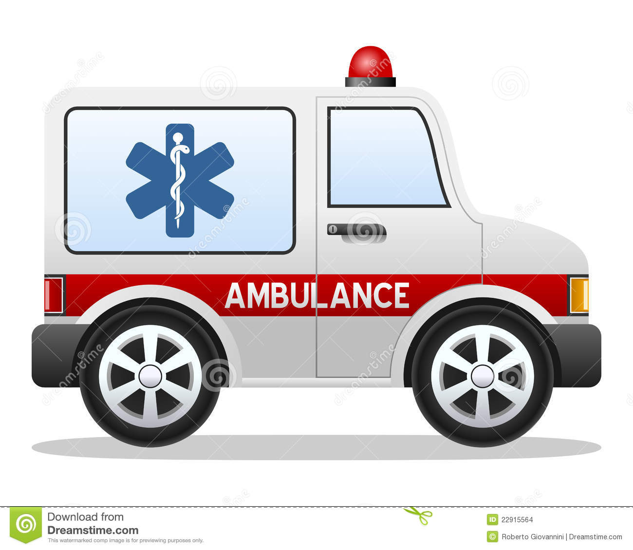 Cartoon Ambulance